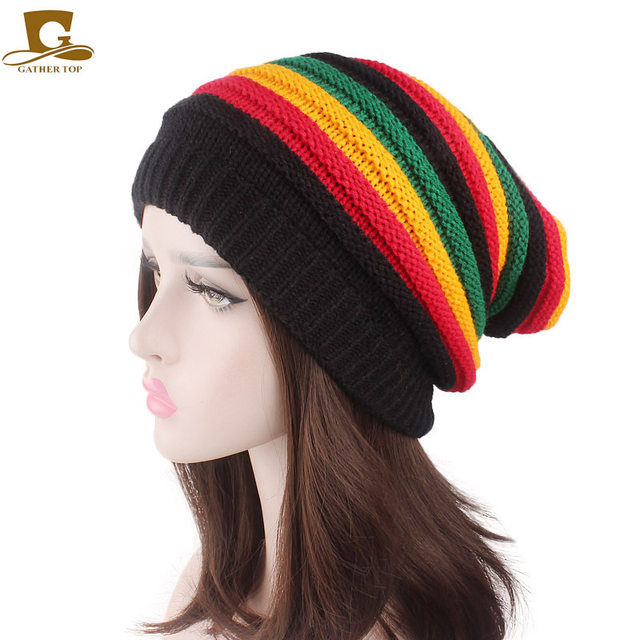 Tienda Online Moda Bob Marley Jamaica reggae cap multicolor rayas ...