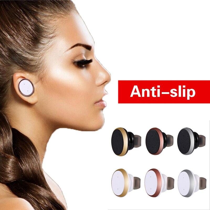 Mini auricular bluetooth estéreo de música para auriculares auriculares inalámbr