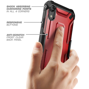 Image 5 - SUPCASE For iphone XR Case UB Series Premium Hybrid Protective TPU Bumper + PC Clear Back Phone Cover For iphone Xr 6.1 inch