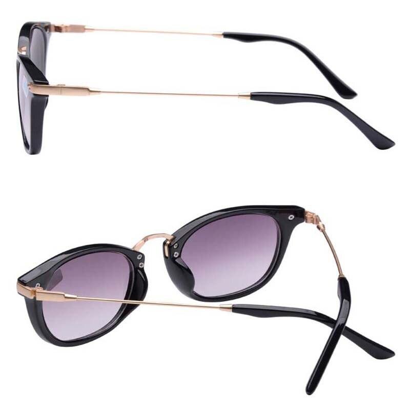 110ae1397e Nuevo terminado miopía gafas de sol de moda gris de la lente, patas de  Metal, con grados de gafas de sol 1 1,5 2,0 2,5 3,0 3,5 4,0 en Gafas de sol  ...