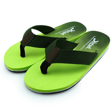 The New Summer Gradient Beach Shoes Pinch Fashion Leisure font b Men S b font Slippers
