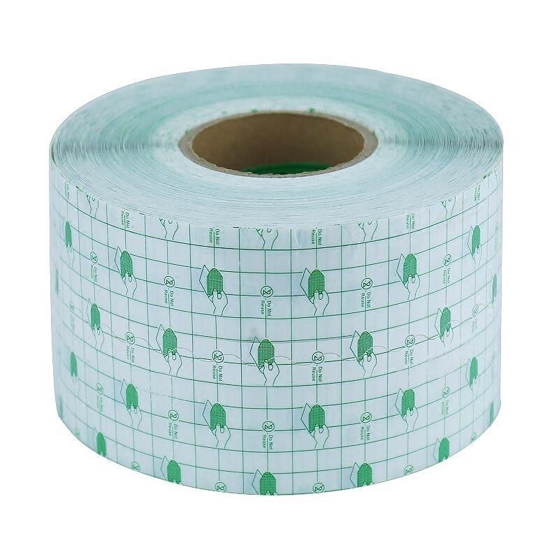 2 Pcs/lot Medical Transparent Adhesive Tape Bath Waterproof Anti-allergic Medicinal Pu Membrane Wound Dressing Fixation Tape