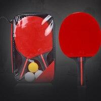 Pingpong Ball Racket Set 2 Paddles 3 Table Tennis Ball for Training B2Cshop