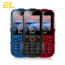 E&L K6900 Original Rugged Phone IP68 Waterproof Shockproof Cell Phones Push-button Dual Sim GSM Unlocked Phone Cheap China Phone