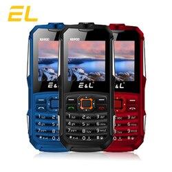 E&L K6900 Original Rugged Phone Keyboard IP68 Waterproof Shockproof Big Flashlight Push-button 2G GSM Unlocked Cheap China Phone