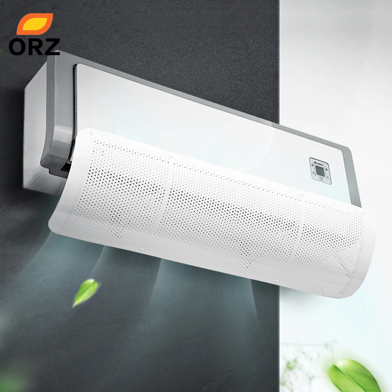 ORZ Home Air Conditioning Wind Deflector Adjustable Windshield Air Conditioner Tools Air Baffle Shield Home Office Accessories(China)