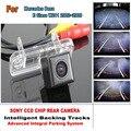 Câmera do carro Para Mercedes Benz Classe E W211 2002 a 2009 AMG Verson CCD Noite Câmera de Visão Traseira de Estacionamento Inteligente Chips de Faixas