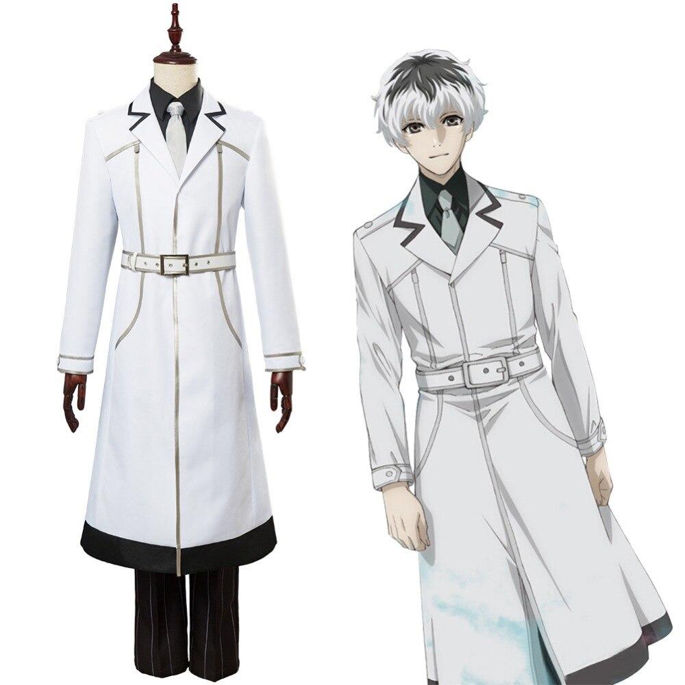 Tokyo Ghoul:Re Kaneki Ken Cosplay Costume Uniform