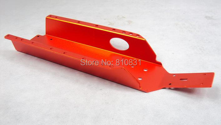 ФОТО New Baja main frame chassis 65001-1 For 5B 5T 5SC HPI closed type chassis