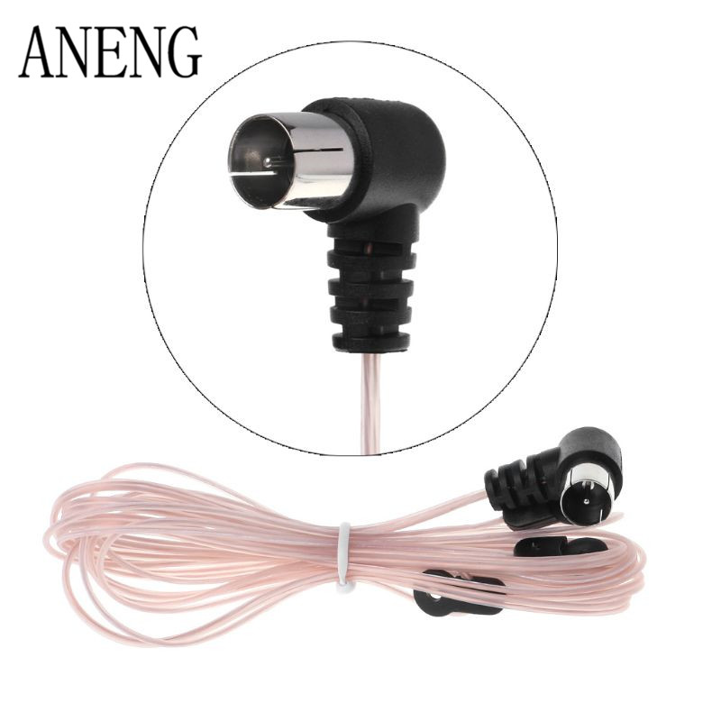 FM Antenna Male Plug Connector Stereo Audio Radio Receiver Adapter For Wave Tivoli Yamaha Denon Marantz Onkyo Pioneer OTHERS