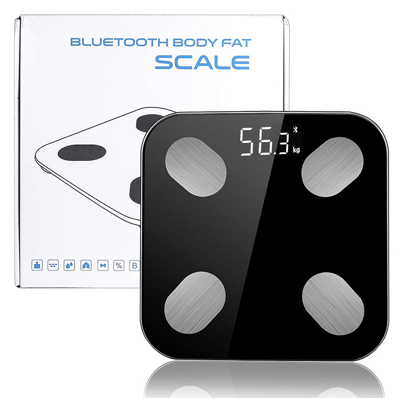 DARIS Body Fat Smart Scale With Scientific LED  Screen and Bluetooth Supported in  Android and IOS