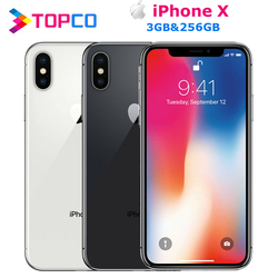 Apple iPhone X Factory Unlocked Original Mobile Phone 4G LTE 5.8
