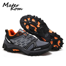 2019 Spring New Men Hiking Shoes Breathable Mesh Upper Trekk