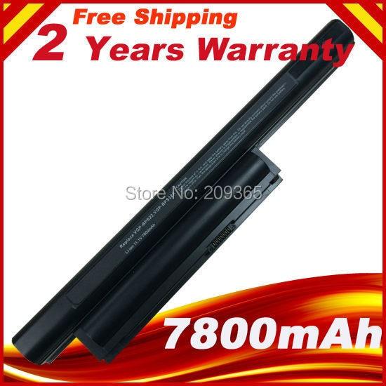 7800mAh 9 Cells Laptop Battery BPS22 VGP-BPS22 VGP-BPL22 VGP-BPS22A VGP-BPS22/A Notebook Battery For SONY VAIO E Series