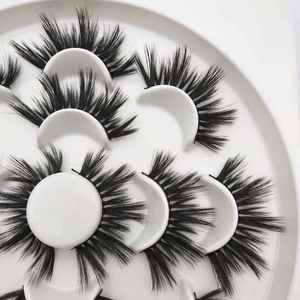 Image 3 - Buzzme H15 25mm lashes 3D sintetico ciglia 7 paia lashes popolare ciglia finte trucco
