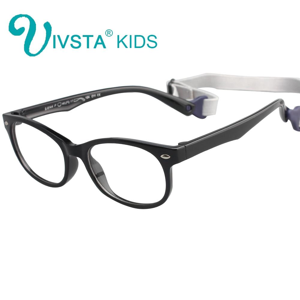 IVSTA TR90 optiskās brilles bērniem rāmji gumijas elastīgās brilles Meiteņu zēnu miopija Bērnu redzes tuvredzības pakāpe 8144