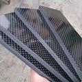 1 stück 3K carbon board für DIY messer griff material Twill produzieren material-in Messer aus Werkzeug bei