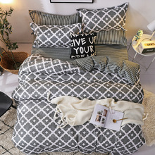 Europe, America,Japan elegant Sheet Full Size Pillowcase&Duvet Cover Sets 3&4 pcs comforter bedding sets