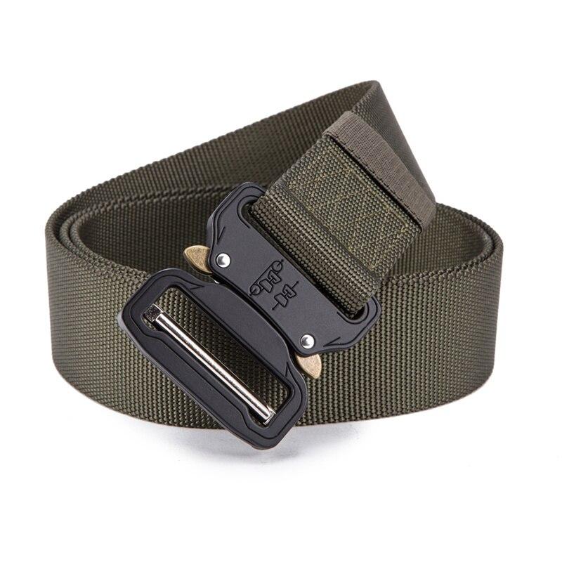 FRALU 2018 Hot Mens Tactical Belt Military Nylon Belt Outdoor multifunctional Training Belt High Quality Strap ceintures 21