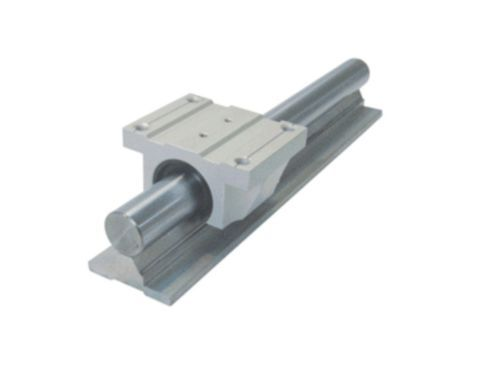 ФОТО 1XTBR30-1100mm 30MM FULLY SUPPORTED LINEAR RAIL SHAFT+ 2 TBR30UU Rounter Bearing