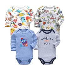 0-2 years Jumpsuit For Newborns Baby Romper Long Sleeve Costume Cotton toddler B