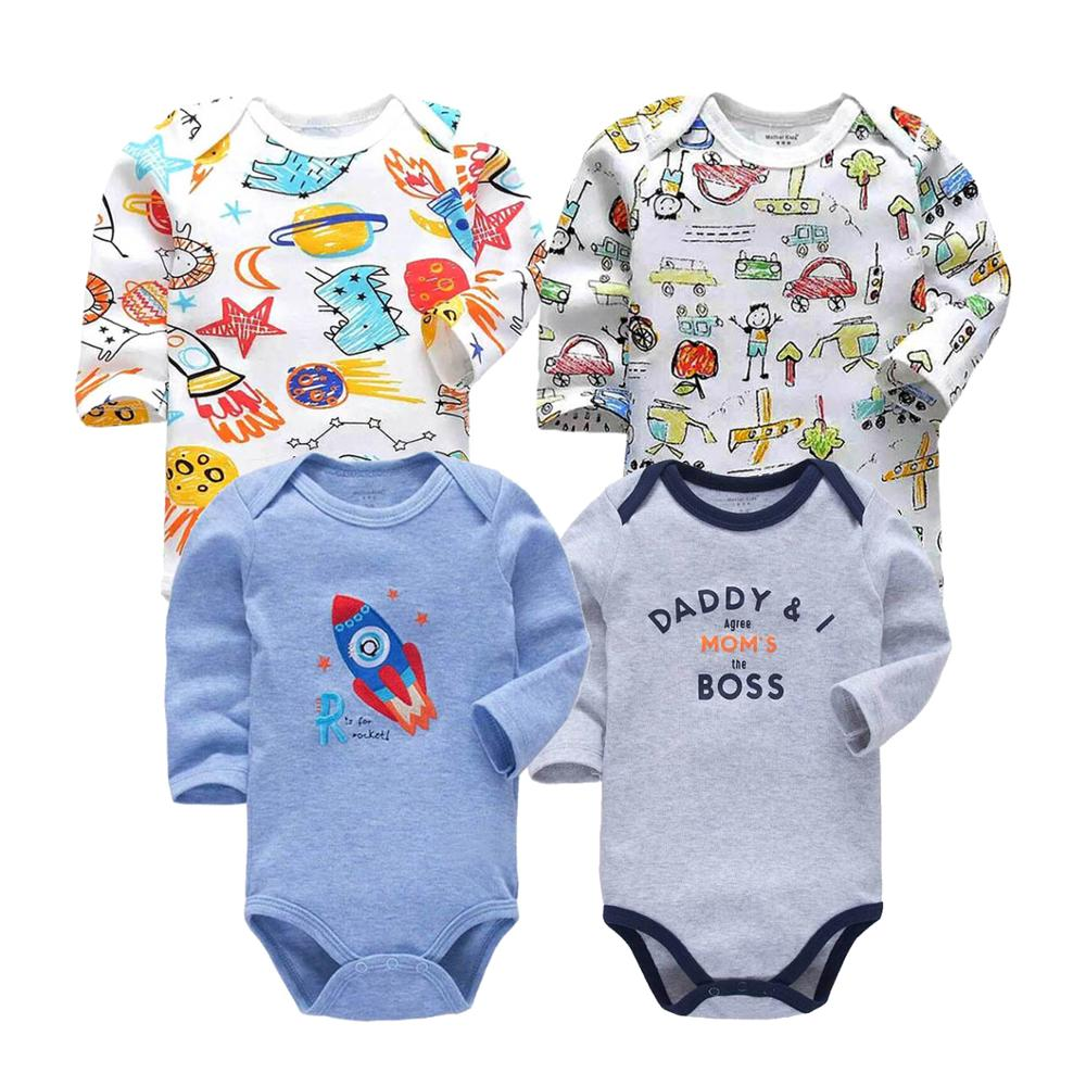 0-2 years jumpsuit for Newborn <font><b>Baby</b></font> <font><b>Romper</b></font> long Sleeve Top Quality Cotton toddler <font><b>Baby</b></font> Boys Clothes Overalls for children image
