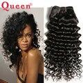 8А Индийский Глубокая Волна Девы Человеческих Волос 300 г Индийский Девы волосы Глубокая Волна Реми Волосы Переплетения Волос Королева Продукты Глубокой Вьющиеся