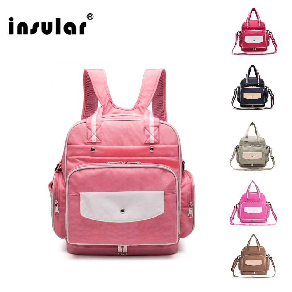 Waterproof Maternity Backpack Nappy Diaper Bag For Travel Multifunctional Mummy Mom Baby Stroller Nursing Bag for Baby Care LD19 baby diaper bag backpack maternity nursing bag for stroller nappy changing bag baby care organizer for mom travel backpack d3