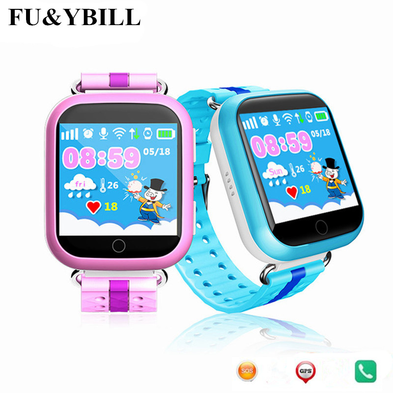 (10Pcs/Lot) Q750 WIFI 1.54 Touch Screen Kids Early Learning Smart Baby Watch Anti-droppe ...