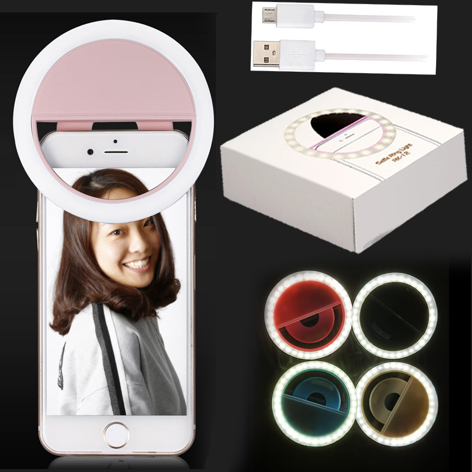 Z10 3mode Flash Light Camera Enhancing Photography Led Selfie Ring Live Light Luminous Lamp Night Light For Any Mobile Phone