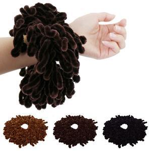 Image 1 - Mode Vrouwen Moslim Stretch Twist Haarbanden Tulband Head Wrap Hijab Chouchou Bandana Hoofddeksels Accessoires Elastische Haarband Nieuwe
