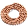 Antiguo yoga budista de mala de 108 cuentas de madera de buda pulsera rudraksha granos del encanto collar de las pulseras para hombres mujeres regalo de la joyería
