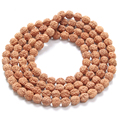 Antique Yoga Buddhist Mala 108 Wooden Beads Buddha Bracelet Rudraksha Charm Beads Bracelets Necklace For Men Women Jewelry Gift