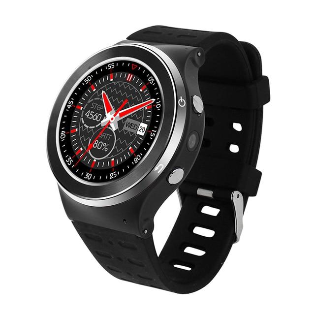 Новый Оригинальный ZGPAX S99 GSM 3 Г Quad Core Android 5.1 Смарт часы С 5.0 МП Камерой GPS WiFi Bluetooth V4.0 Шагомер Сердце скорость.