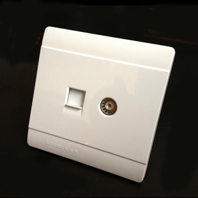 Electrical Socket 86 Type Wall Switch Socket Compute  Pctv