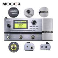 Mooer GE200 Amp Modelling Multi Effect Processor Pedal With 26 IR Speaker Cab Model 52 Second