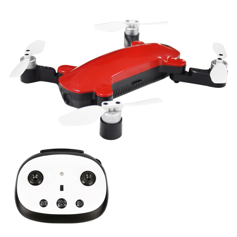 Simtoo Фея мини складной бесщеточный Квадрокоптер с передатчиком WifI FPV 1080 P камера оптический поток навигация GPS Дрон XT175