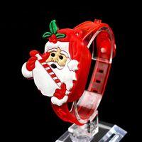 แฟชั่นมือตบมือตบคริสต์มาสคริสมาสต์วงกลมลูบแสงของขวัญคริสต์มาสตกแต่งแฟลชมือห่อSlapsสร้อยข...