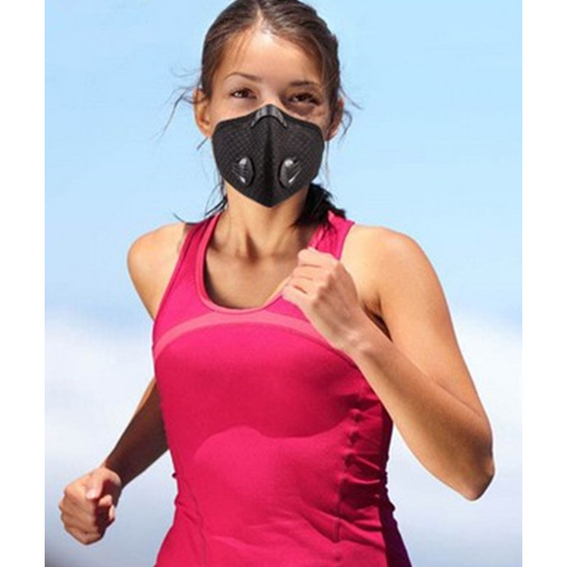 Super Breathable Mesh Anti-fog Cycling Mask Bicycle Dust Mask Outdoor Sports Activated Carbon Windproof MTB Training Masks Cool outdoor cycling half face mask dust windproof anti pollen allergy activated carbon masks filter sports riding running lcc