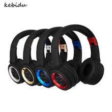 Kebidu Profession aptX Low Latency Wireless Bluetooth 4.2 Headset Foldable Headphone Dual Mode Sound for TV Phone Drop Shipping(China)