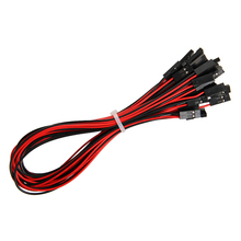 10pcs 70cm Dupont line 2pin female to female jumper wire Dupont cable for Arduino diy 3d printer