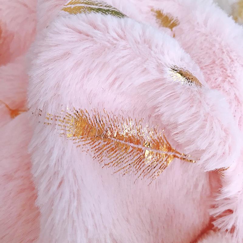 Fur Decorative Cushion Cover Home Plush Pillow Case Bed Room Pillowcases Pillows Car Seat Decoration Sofa