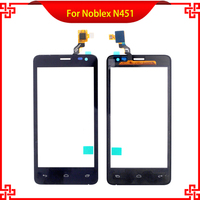 Touch Screen Digitizer Assembly 100% Tested For Noblex N451 STG0400A4 Black Color High Quality Mobile Phone Touch Panel