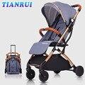 TIANRUI Детская коляска разборного путешествия легко переносится и может быть в самолете