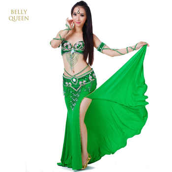 2020 New 3pcs/set Belly Dance Costume Womens Belly Dancing Costume Sets Tribal Bollywood Costume Indian Dress Bellydance Dress