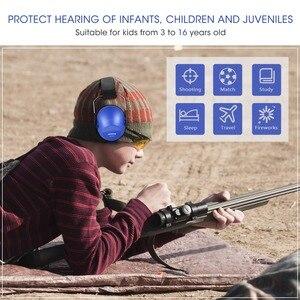 Image 5 - Mpow hp046 어린이 안전 귀 muffs 소음 감소 슈터 청력 보호 nrr 25db 어린이를위한 전문 소음 감소