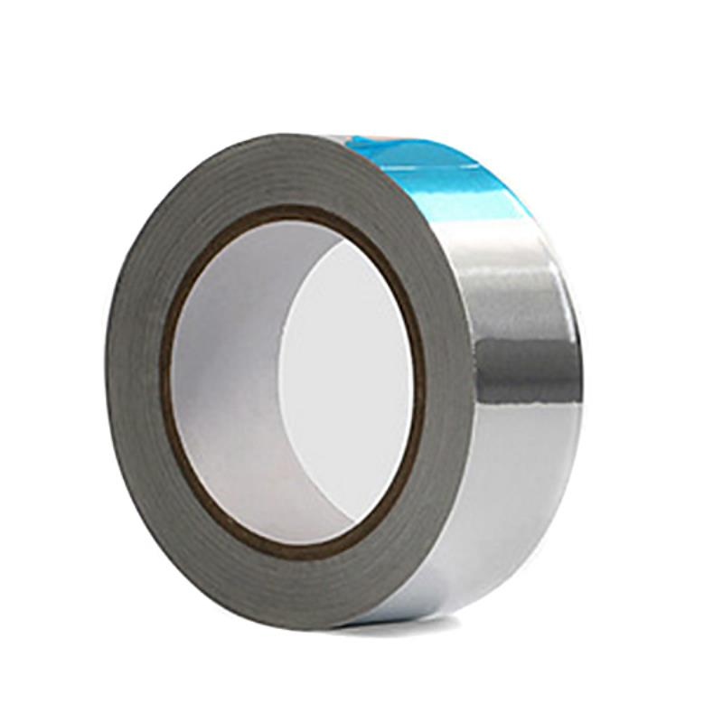 Chrome Aluminium Foil Tape Adhesive Reflector Car Aluminium Foil Tape Stripe Roll 3cm x 20m High Temperature Resistant free shipping tape aluminum foil tape adhesives sealer household hardware 3cm width