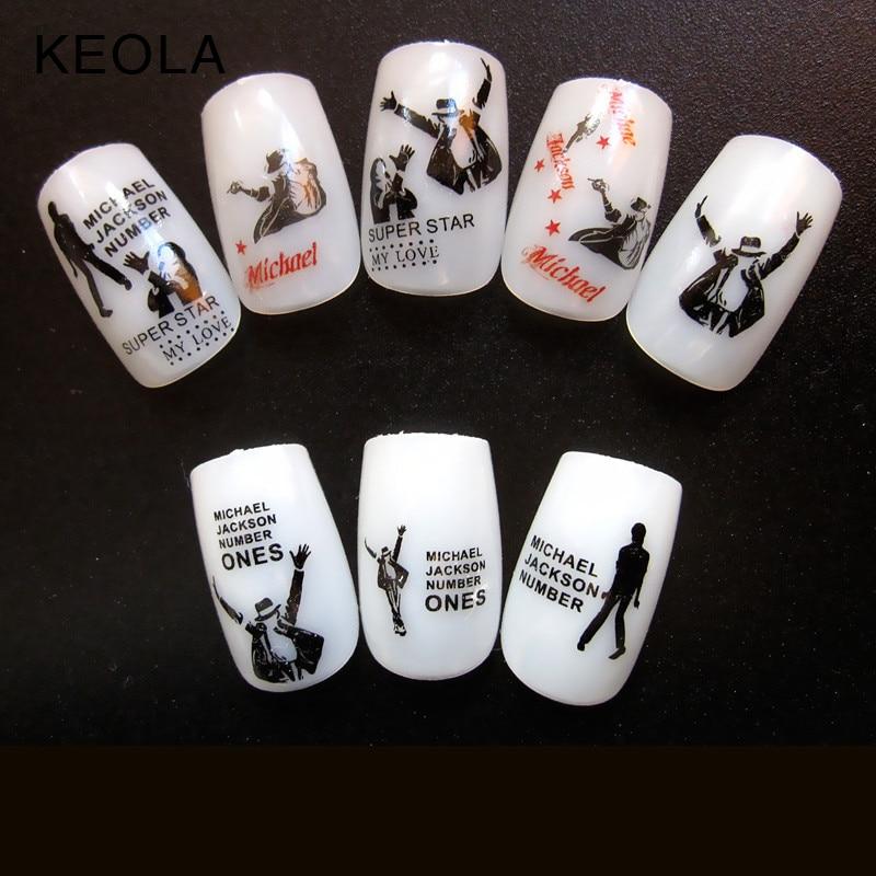 Excelente Diseños De Uñas Michael Jackson Composición - Ideas de ...