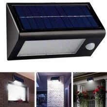 2018 High Bright 32 LED Garden Light Solar Outdoor Wall Lamps Waterproof Human Motion Sensor Emergency lighting Nightlights