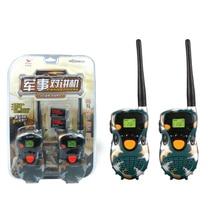 2 pcs Mini walkie talkie Radio T388 Frequency Portable Two Way Radio Gift toys for boys girls